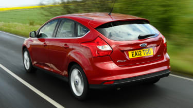 Ford Focus - rear 3/4 view