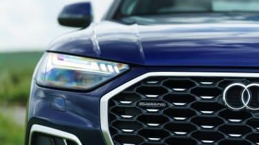 Audi Q5 Sportback SUV - front grille close up