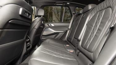 BMW X5 - rear seats
