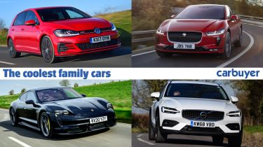 The coolest family cars header
