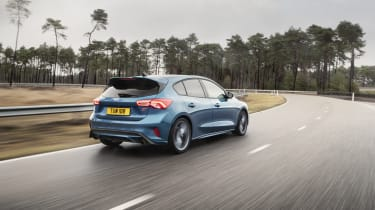 2019 Ford Focus ST  - rear driving