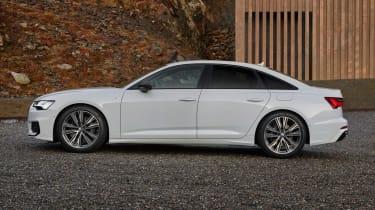 Audi A6 50 TFSI e plug-in hybrid - side view