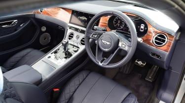 Bentley Continental GT steering wheel
