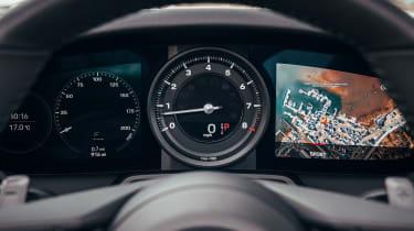 Porsche 911 Targa instrument cluster