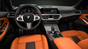 2021 BMW M3 Competition saloon - dashboard and interior