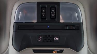Subaru Impreza hatchback console