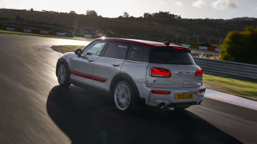 MINI John Cooper Works Clubman - rear cornering