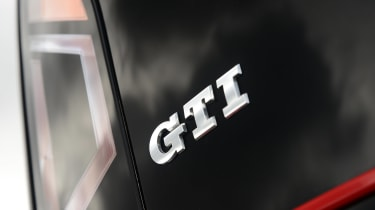 Volkswagen up! GTI hatchback rear GTI badge