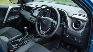The driver's seat offers lots of adjustment so you can find the perfect position