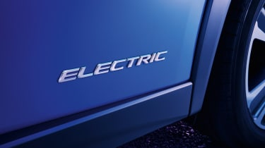 Lexus UX 300e 'Electric' badge