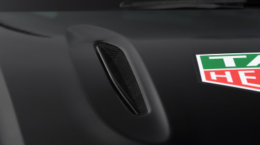 Aston Martin DBX prototype bonnet vent