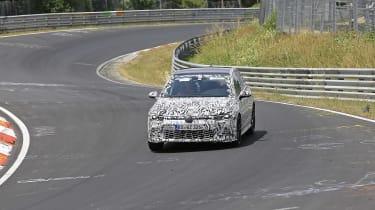Volkswagen Golf GTI development mule