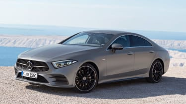 The CLS is available just in AMG Line trim, so every version comes bursting with equipment