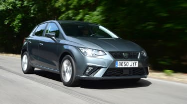 The SEAT Ibiza is a stylish supermini that also offers plenty of space and low running costs