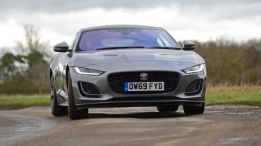 Jaguar F-Type coupe front action