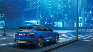 The Jaguar F-Pace is practical as well as stylish