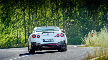 Nissan GT-R Nismo rear cornering