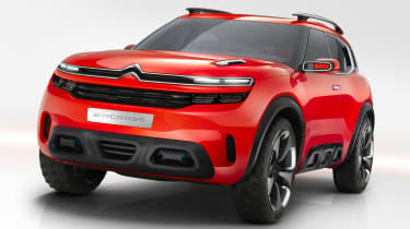 The Citroen Aircross concept will become the firm's next family SUV