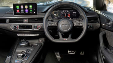 Its interior is uncluttered and upmarket, with an optional virtual cockpit replacing analogue gauges