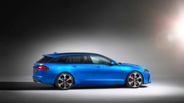 Jaguar XFR-S Sportbrake side