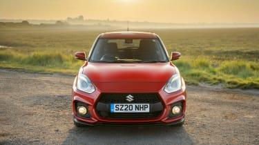 Suzuki Swift Sport mild-hybrid front end