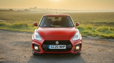 Suzuki Swift Sport mild-hybrid front end