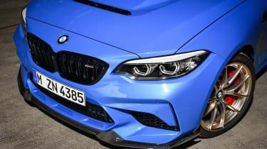 BMW M2 CS front end details