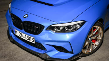 BMW M2 CS front end details