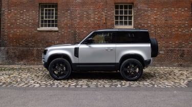 2020 Land Rover Defender 90 - side view static