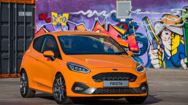 Ford Fiesta ST Performance Edition front static