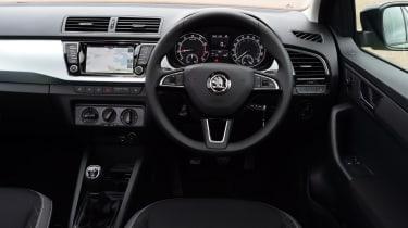Skoda Fabia hatchback interior