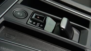 Cupra Leon hatchback gear selector