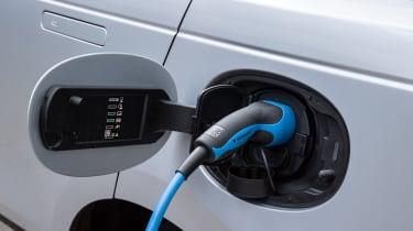 2021 Range Rover Velar P400e plug-in hybrid charging port
