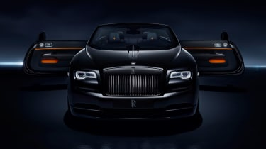 Its multi-layered and lacquered paint finish is said to be the deepest black ever seen on a production car