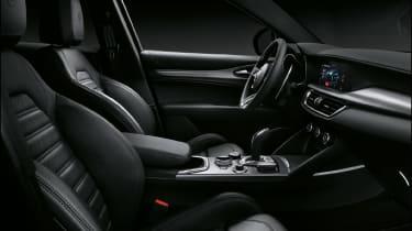 Alfa Romeo Stelvio SUV front seats