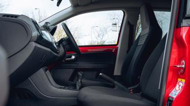 Volkswagen up! hatchback seats