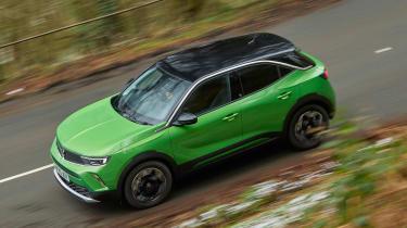 Vauxhall Mokka-e driving