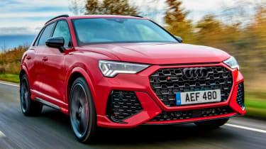 Audi RS Q3 driving