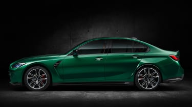 2021 BMW M3 Competition saloon - side view static
