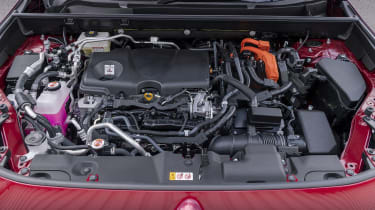 Suzuki Across SUV engine bay