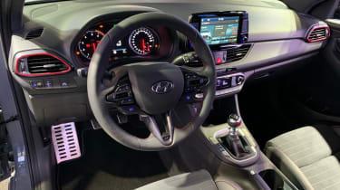 Hyundai i30 Fastback N interior