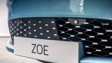 New Renault ZOE - front air intake