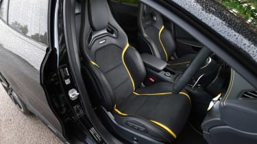A major plus for the Yellow Night Edition is its racey sports seats