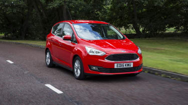 On the road, Focus underpinnings ensure the C-MAX handles very well