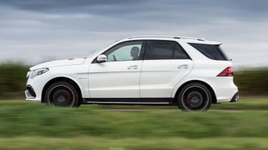 Refined and hushed on the move, the GLE 63 makes for a fantastic high-speed cruiser