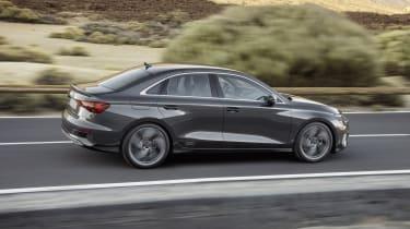 2020 Audi A3 Saloon - side on dynamic view