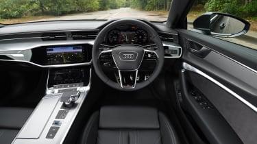Audi A6 saloon - interior