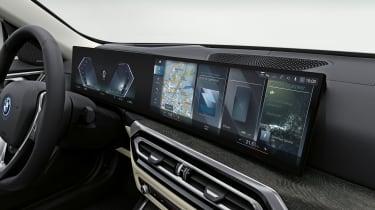 2021 BMW i4 eDrive40 - infotainment screen