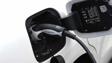 Mercedes EQC SUV charging