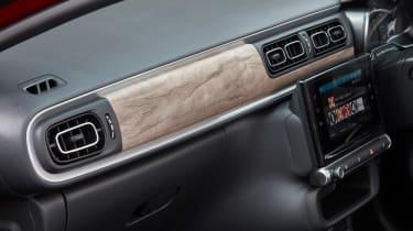 Citroen C3 hatchback dashboard
